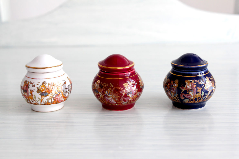 Cute perfume balms from Monastiraki