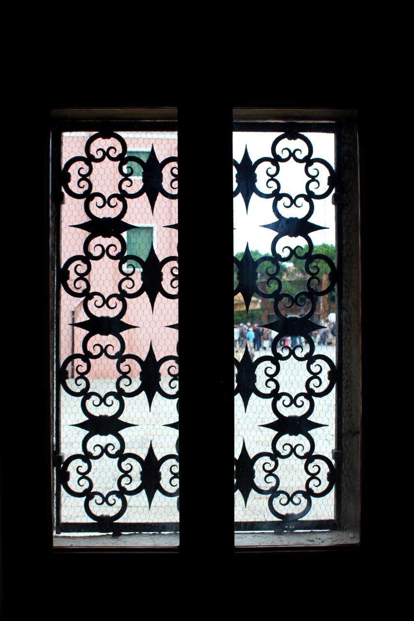 lace detail window