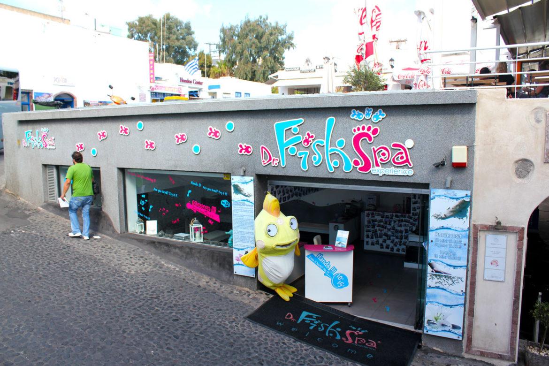 Fish Spa Experience, Fira