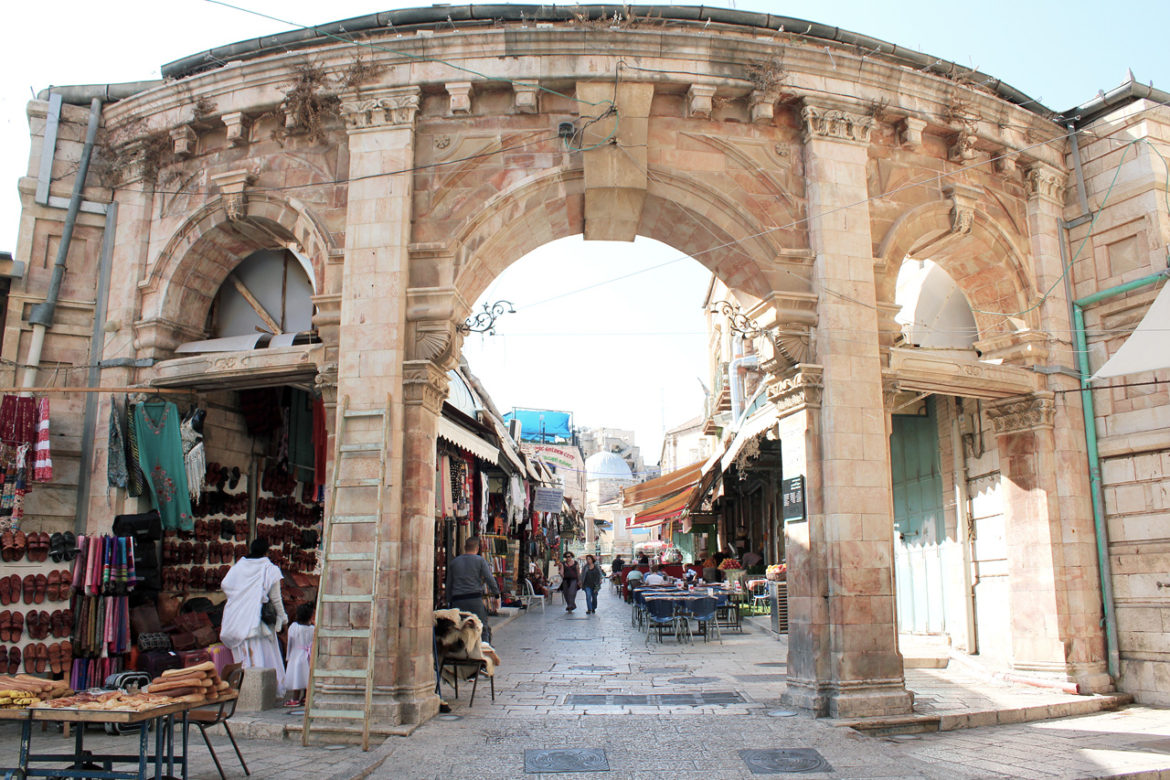 Arches in Christian Quarter