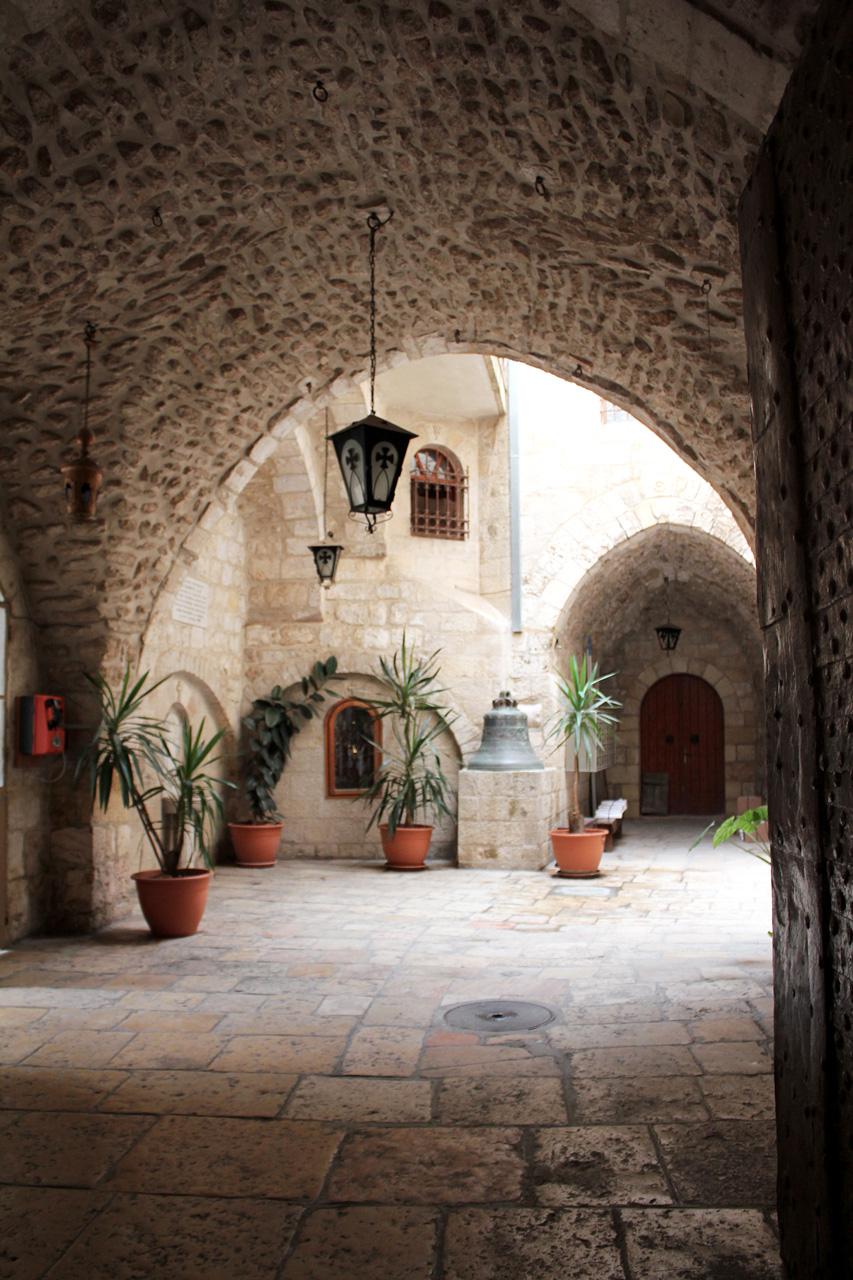 Christian quarter courtyard