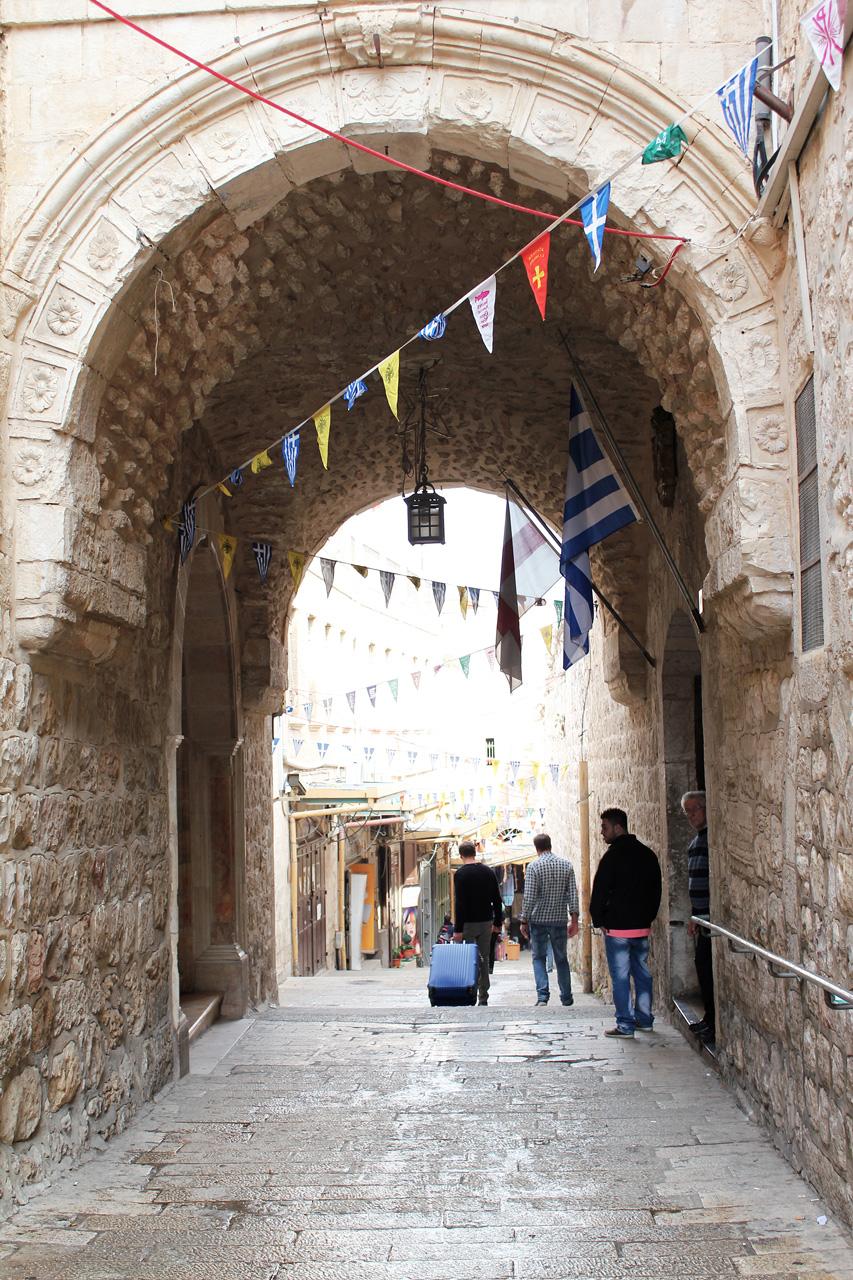 Christian quarter street