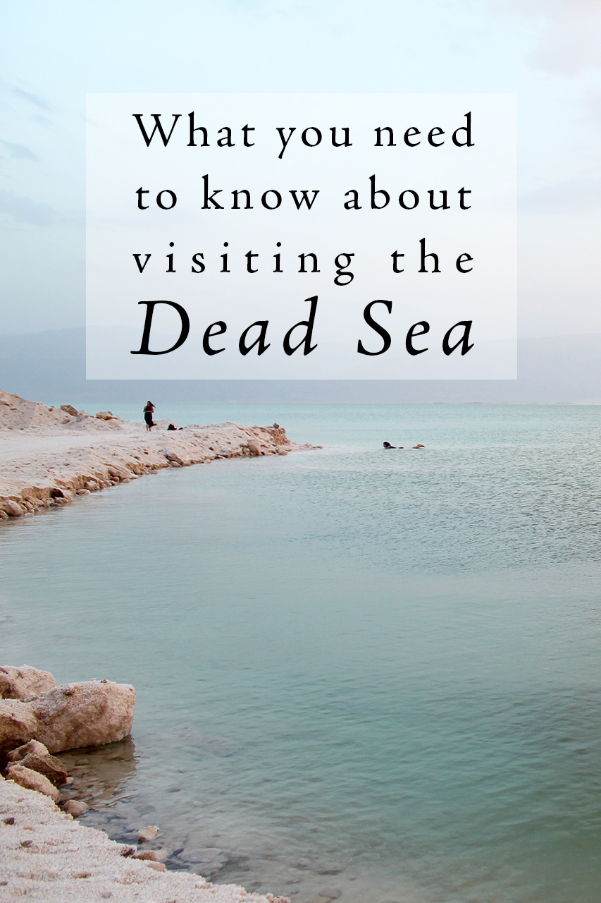 Tips on visiting the Dead Sea