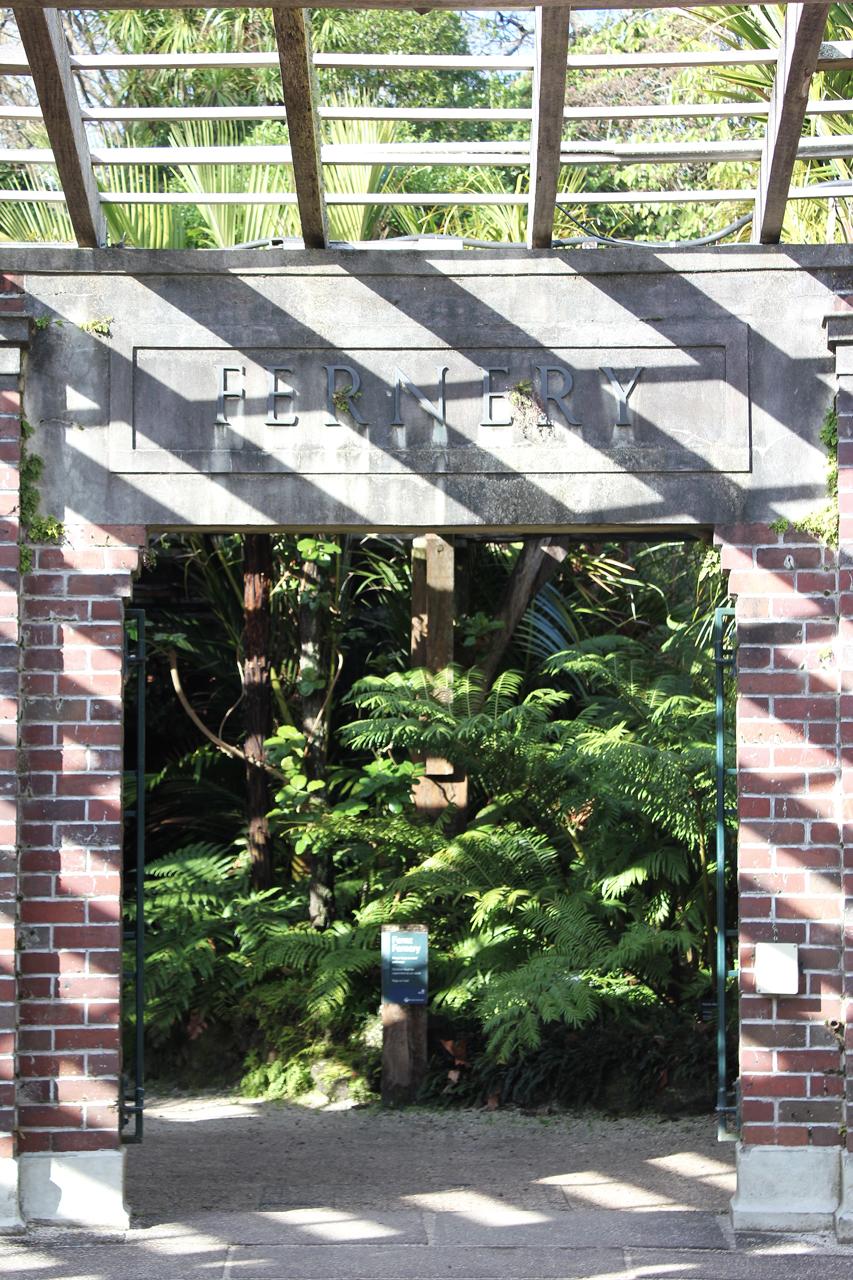 Fernery Entrance