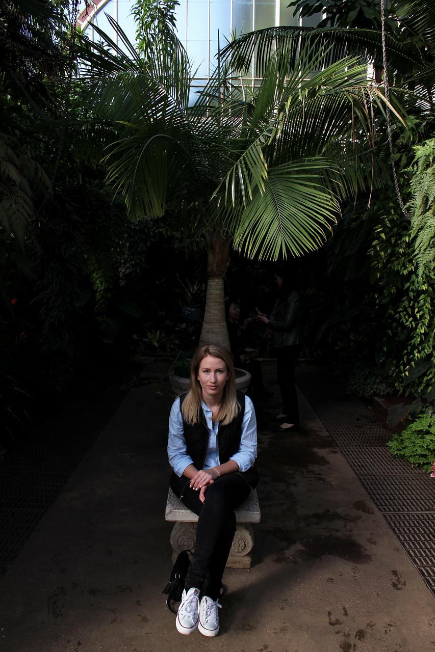 Auckland Wintergardens Emily