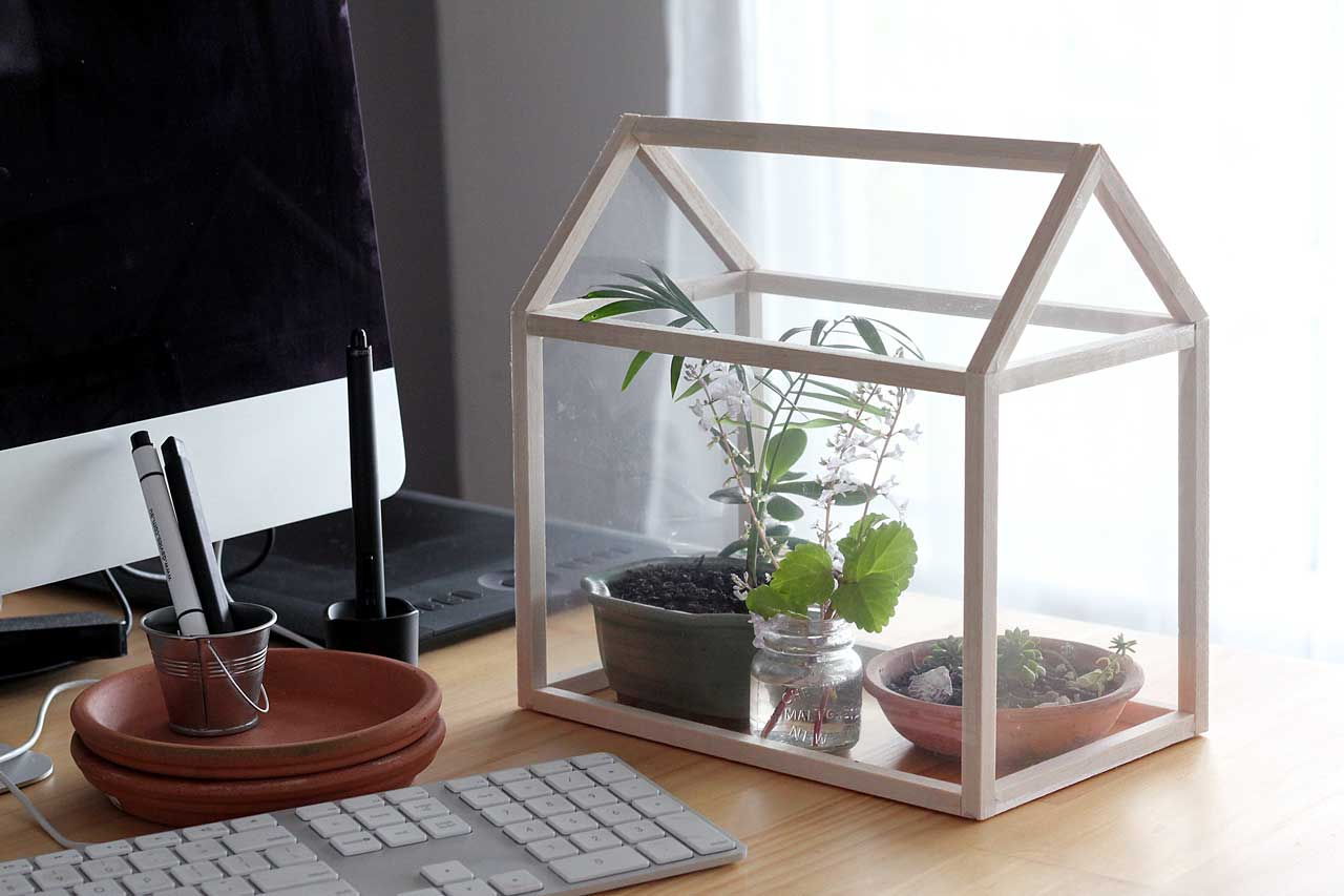 How To Make A Mini Greenhouse Dossier Blog