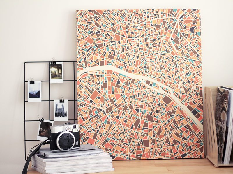 Memories of Paris with Photowall canvas