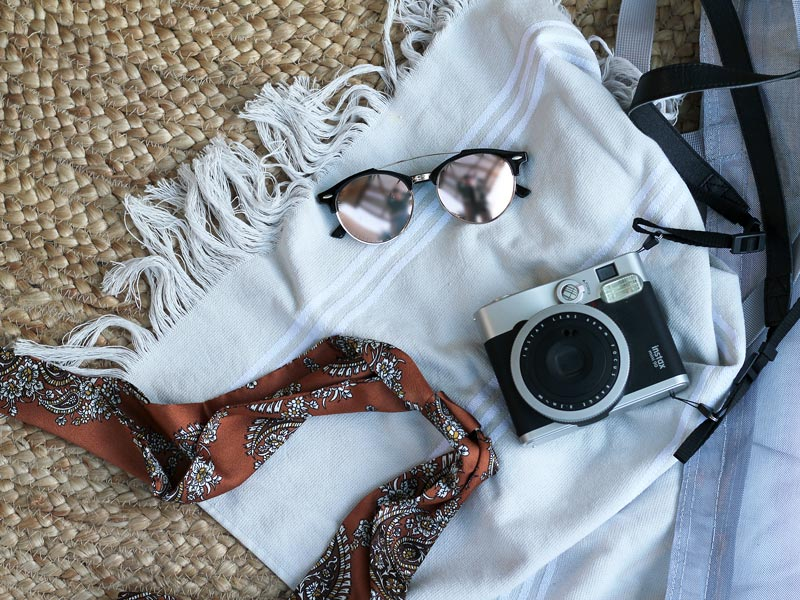 Three ways to use a turkish towel when traveling