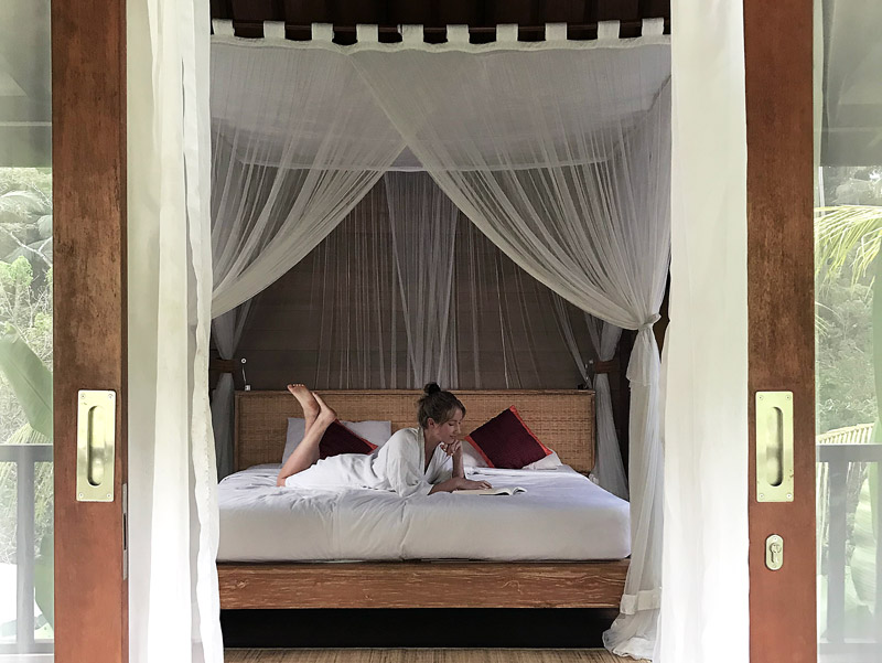 Where to stay in Bali - including recommendations for traditional bure villa style accommodation | Dossier Blog