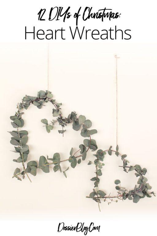 How to make Eucalyptus heart wreaths   Dossier Blog