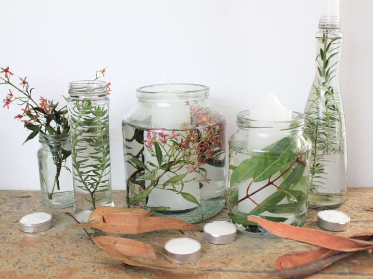 12 DIYs of Christmas: Festive foliage table decor   Dossier Blog